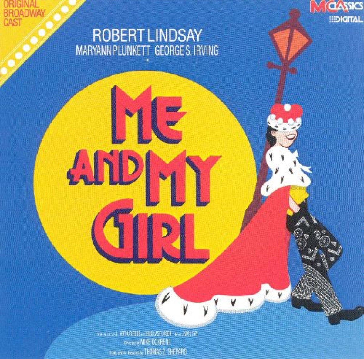me and my girl on broadway original recording, broadway tickets