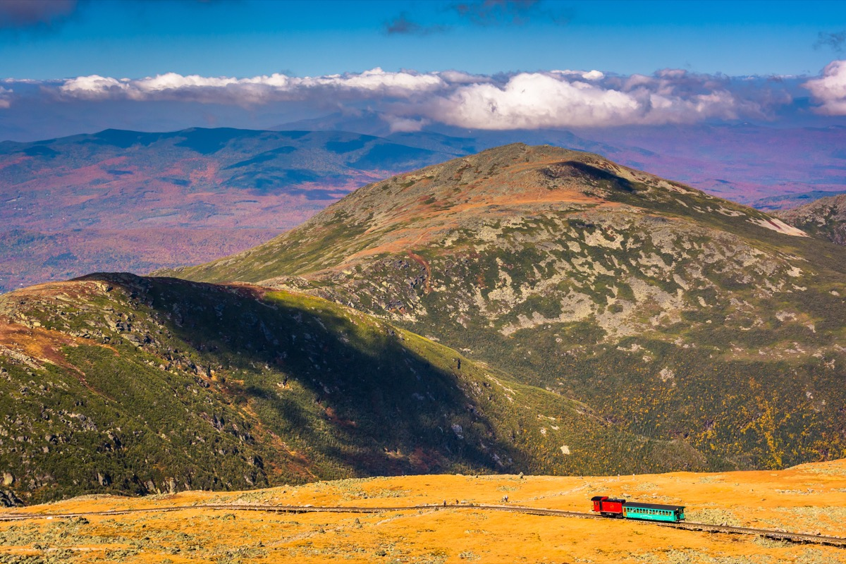 mount washington summit new hampshire state natural wonders