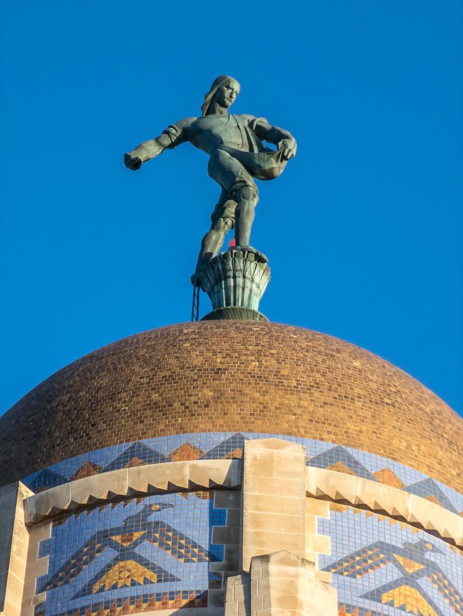 nebraska state capital statue famous state statues