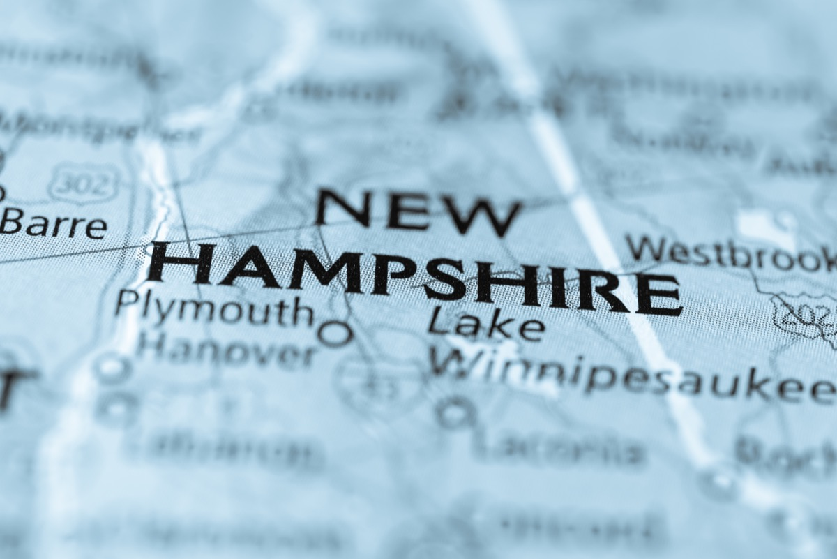 new hampshire geographical map state natural wonders