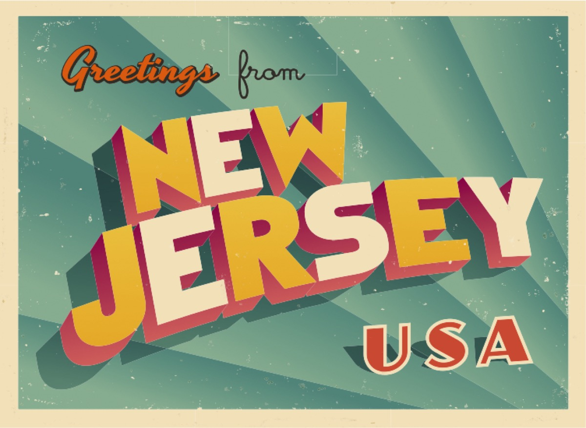 new jersey postcard famous state statues