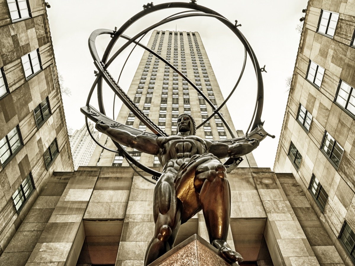 new york city atlas statue famous state statues