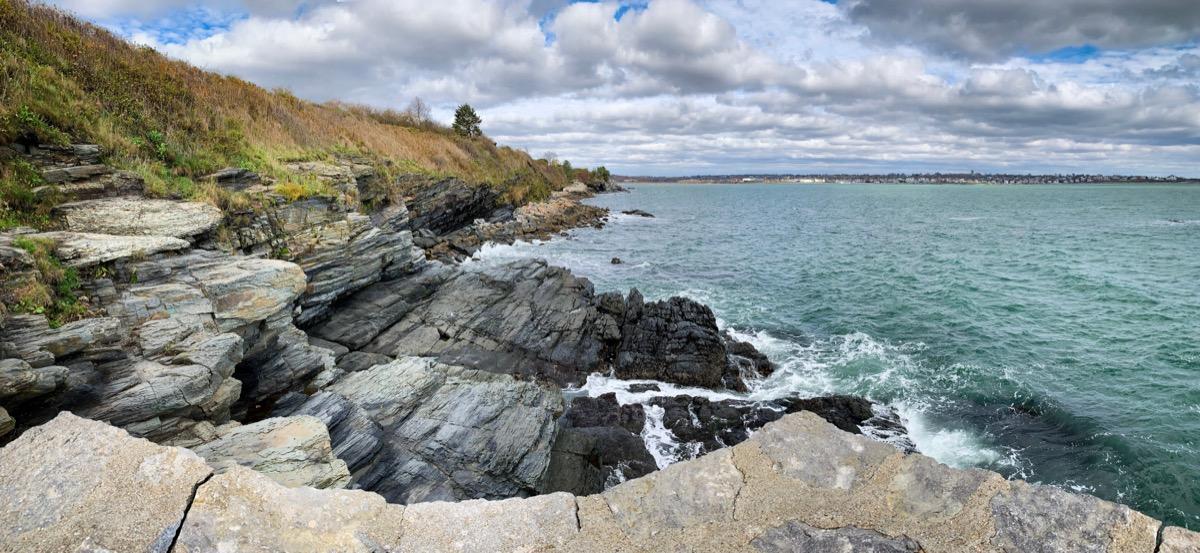 newport cliff walk rhode island state natural wonders
