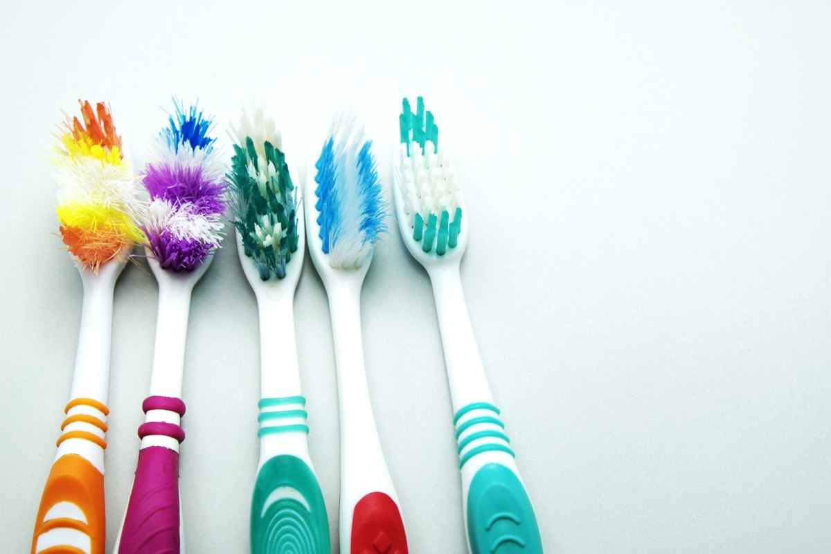 old toothbrushes toss these things from your house for instant happiness