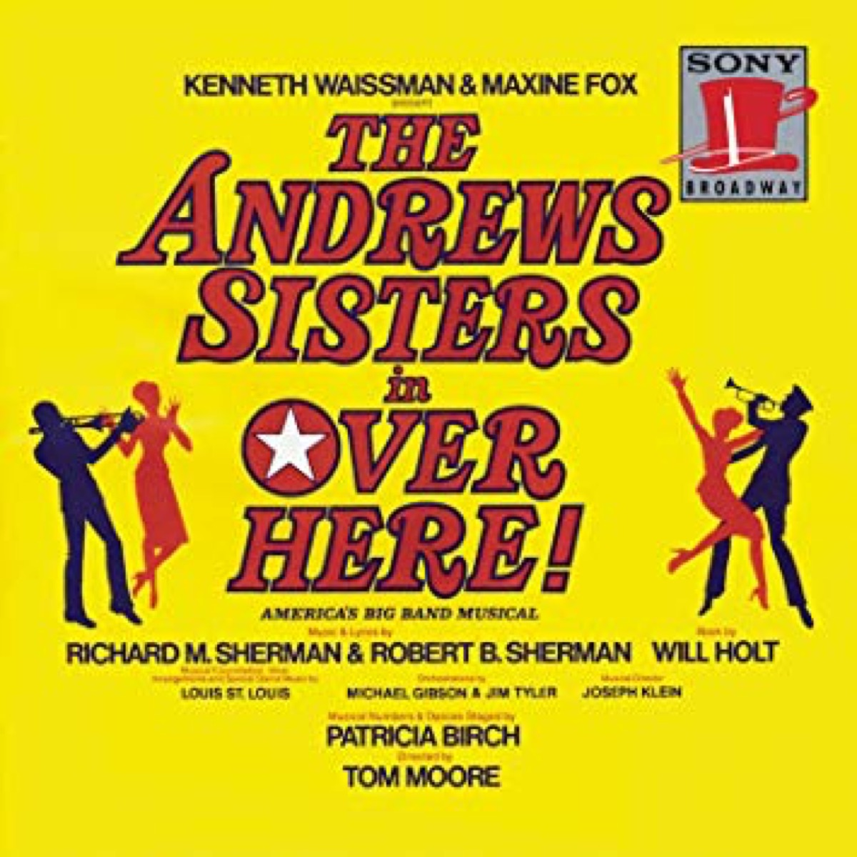 over here broadway cast recording, broadway tickets