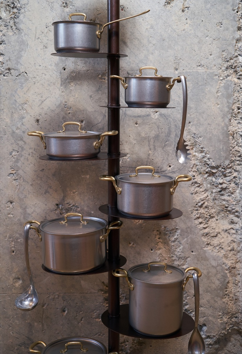 Pan Storage Rack for Kitchen Transform Small Kitchen