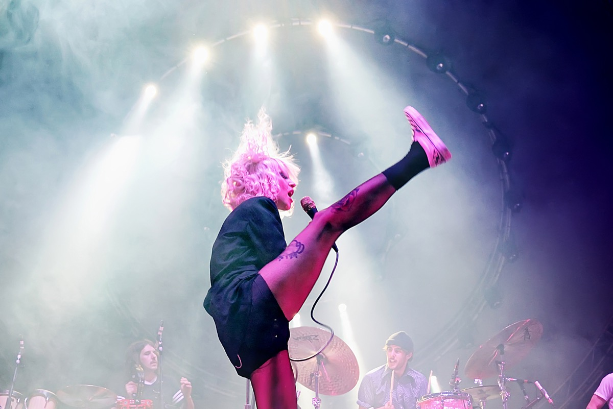 paramore performing in concert, new words coined