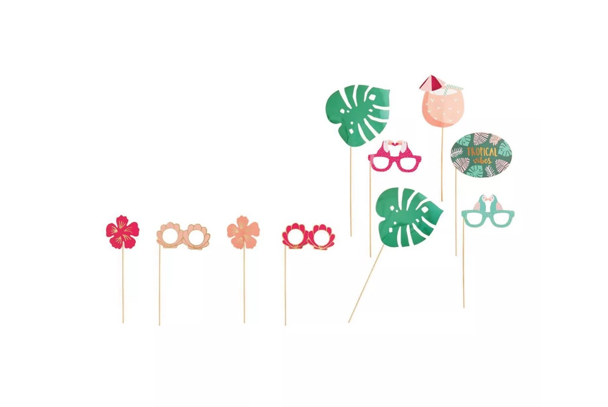 photo booth accessories, summer party essentials