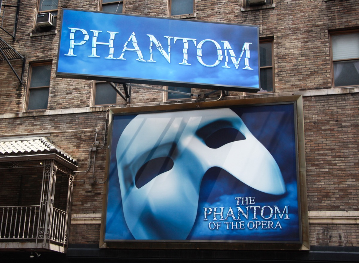 phantom of the opera broadway sign, broadway tickets