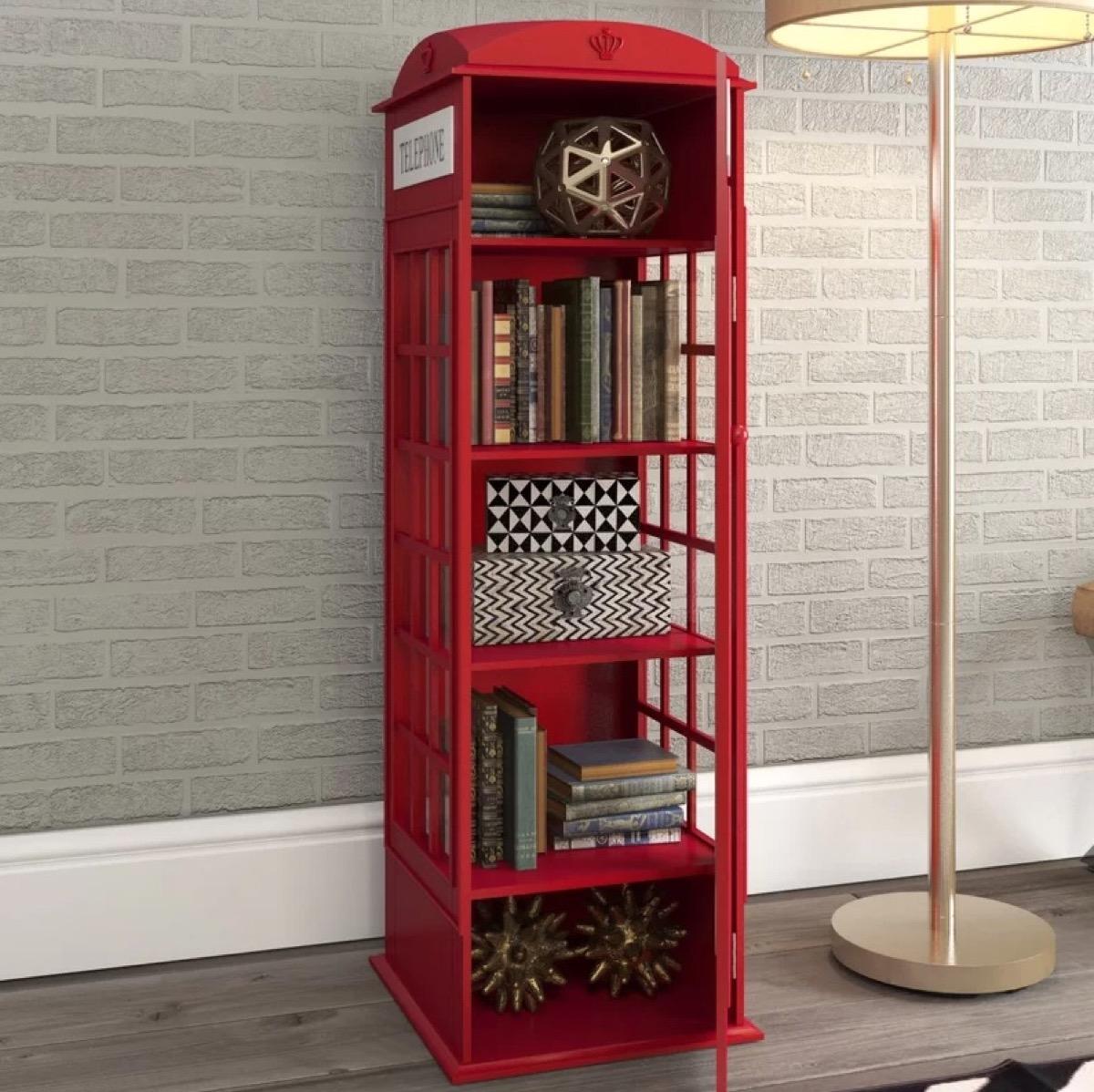 Wayfair Phone Booth Bookshelf Storage Furniture