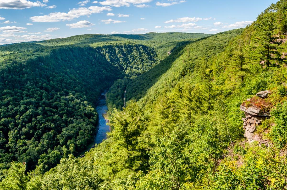 pine creek gorge pennsylvania state natural wonders