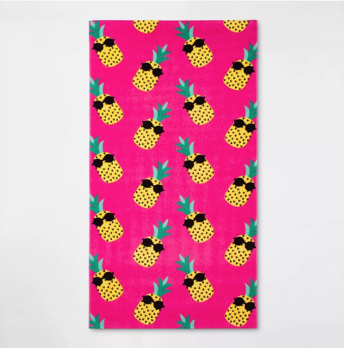pineapple beach towel, target beach essentials