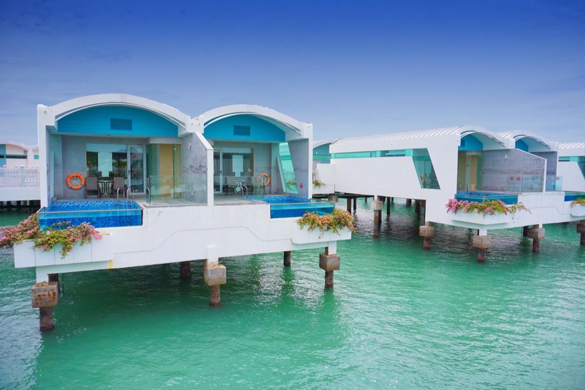 Pools at the Lexis Hibiscus Port Dickson Resort