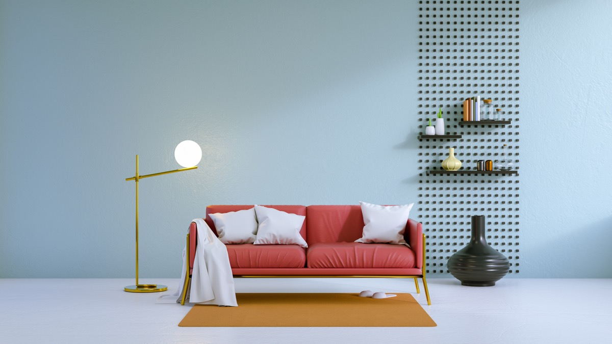 room with light blue walls colors that make small rooms feel bigger