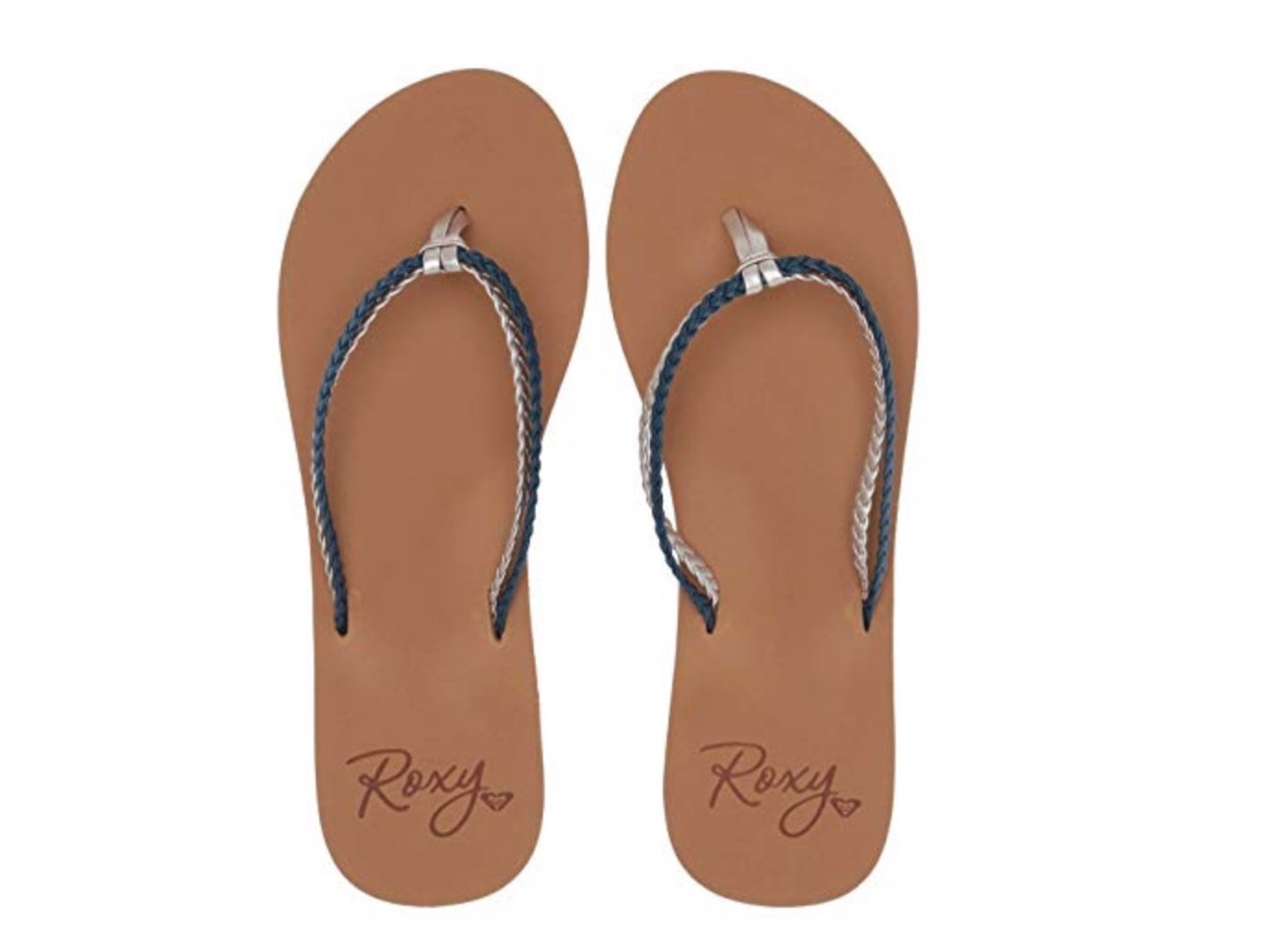 flat leather flip flops, affordable sandals