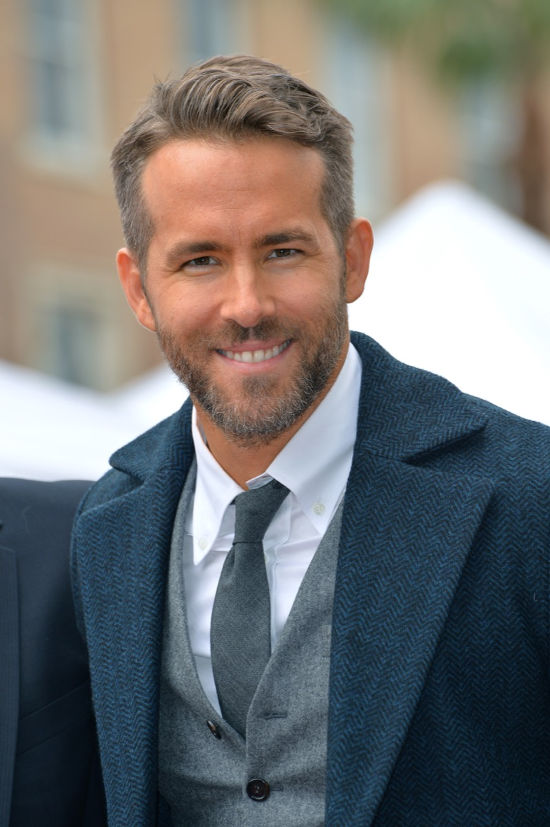 ryan reynolds press photo, father quotes