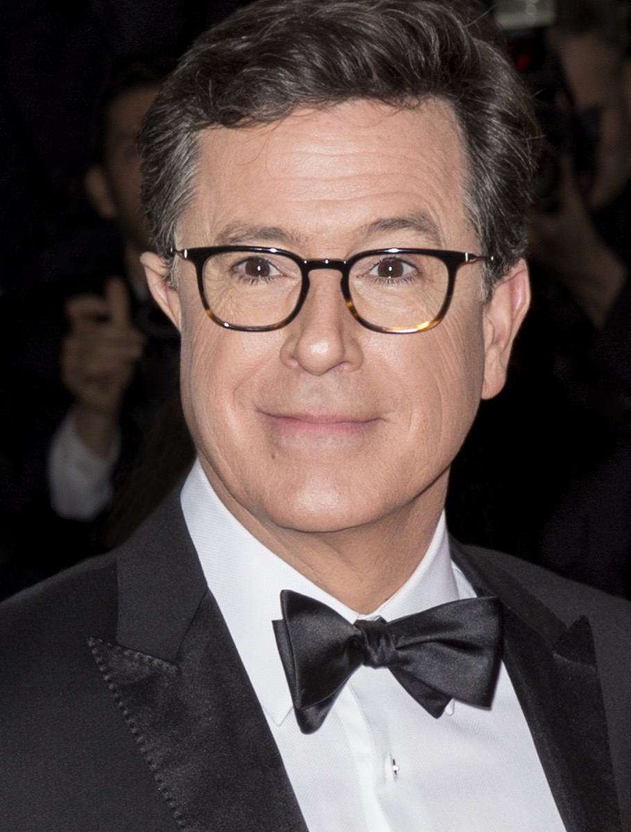 stephen colbert press photos, father quotes