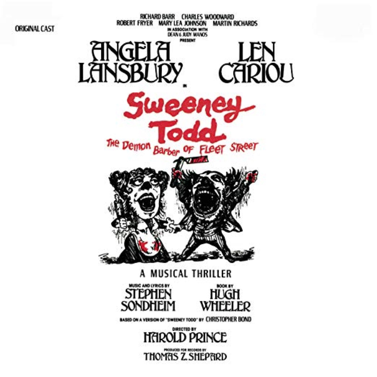 sweeney todd broadway musical recording, broadway tickets