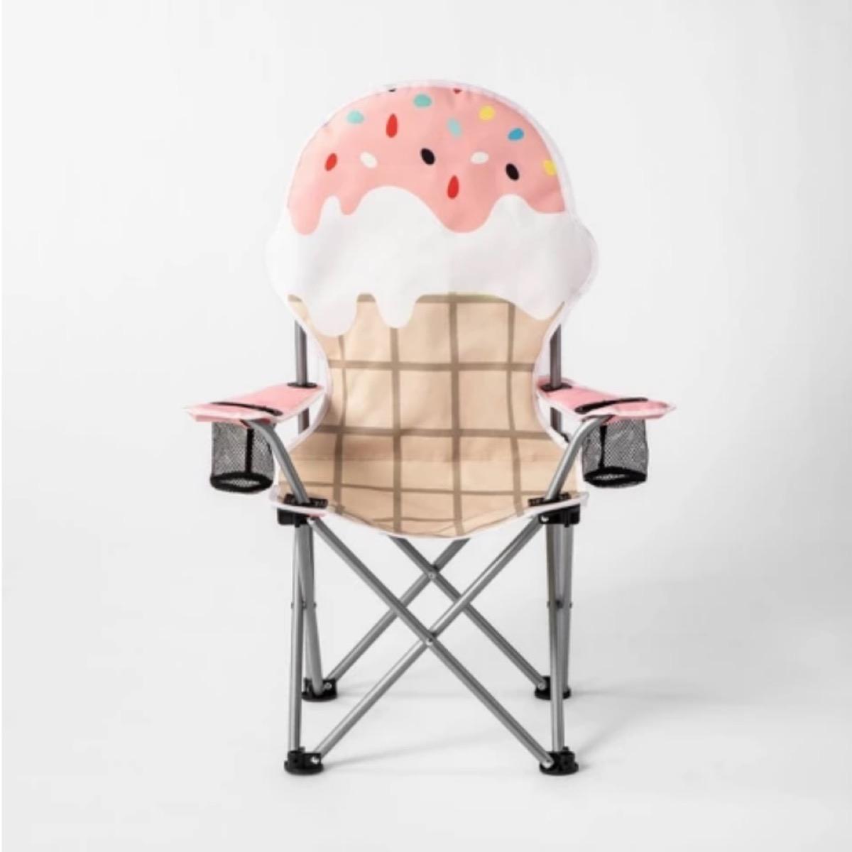 kids ice cream cone chair, target beach essentials