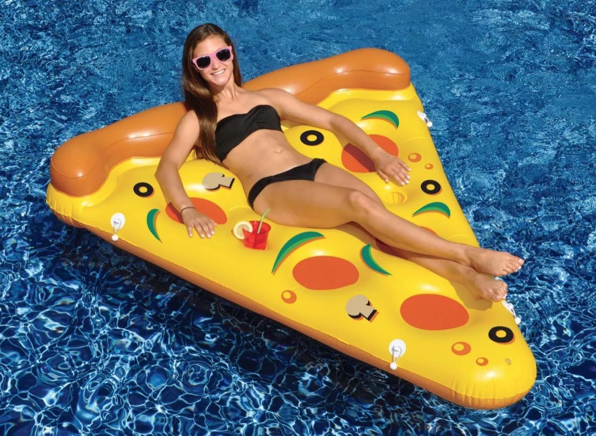 pizza slice pool floatie, target beach essentials