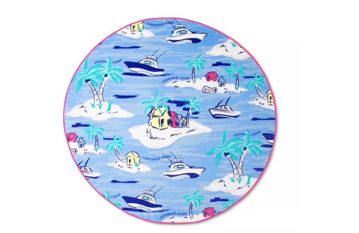 round beach towel, target beach essentials