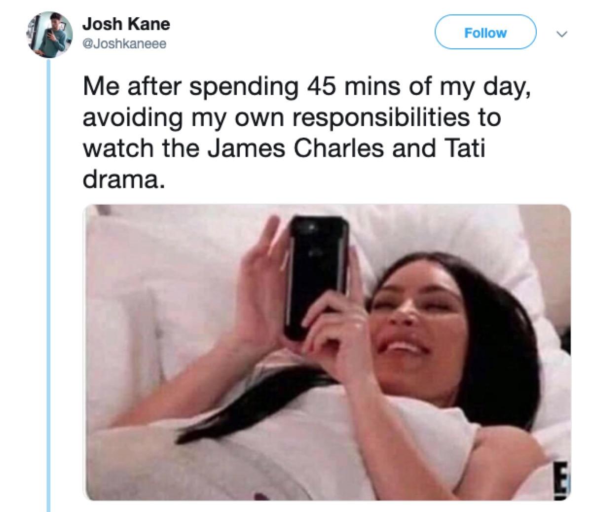 tati james charles meme, 2019 memes