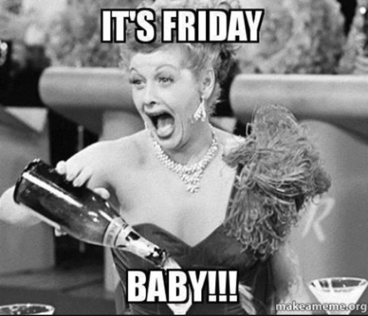 thank god it's friday lucy friday meme