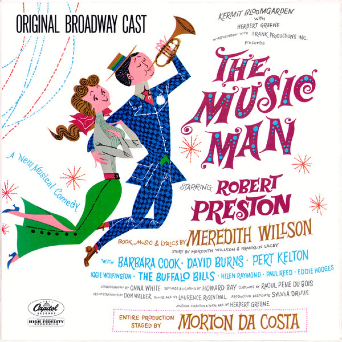 the music man original broadway soundtrack