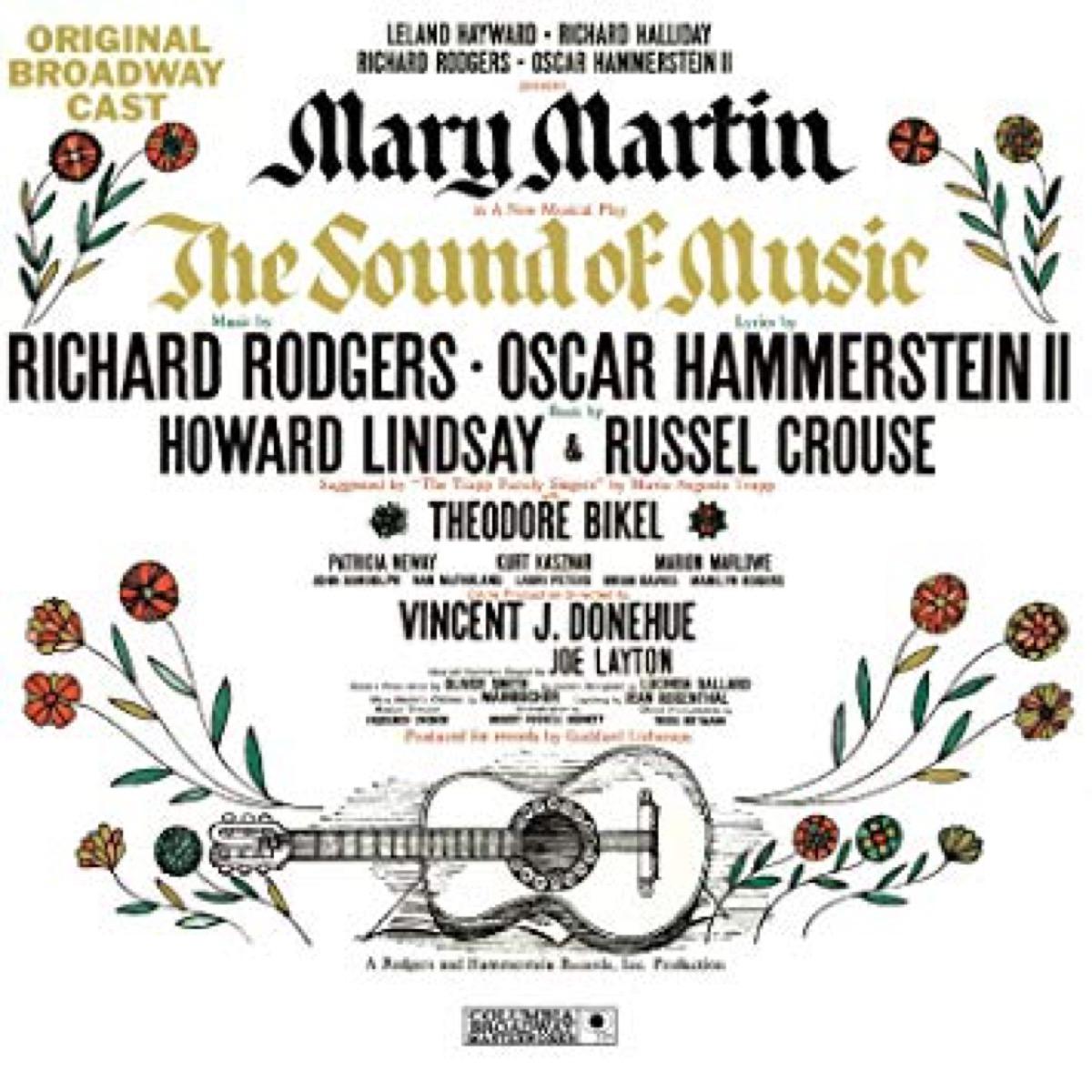 the sound of music original cast recording