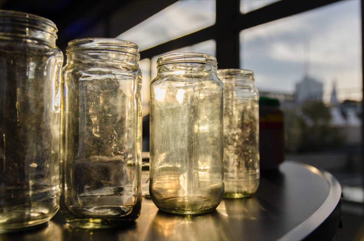 unused mason jars in home toss these things from your house for instant happiness
