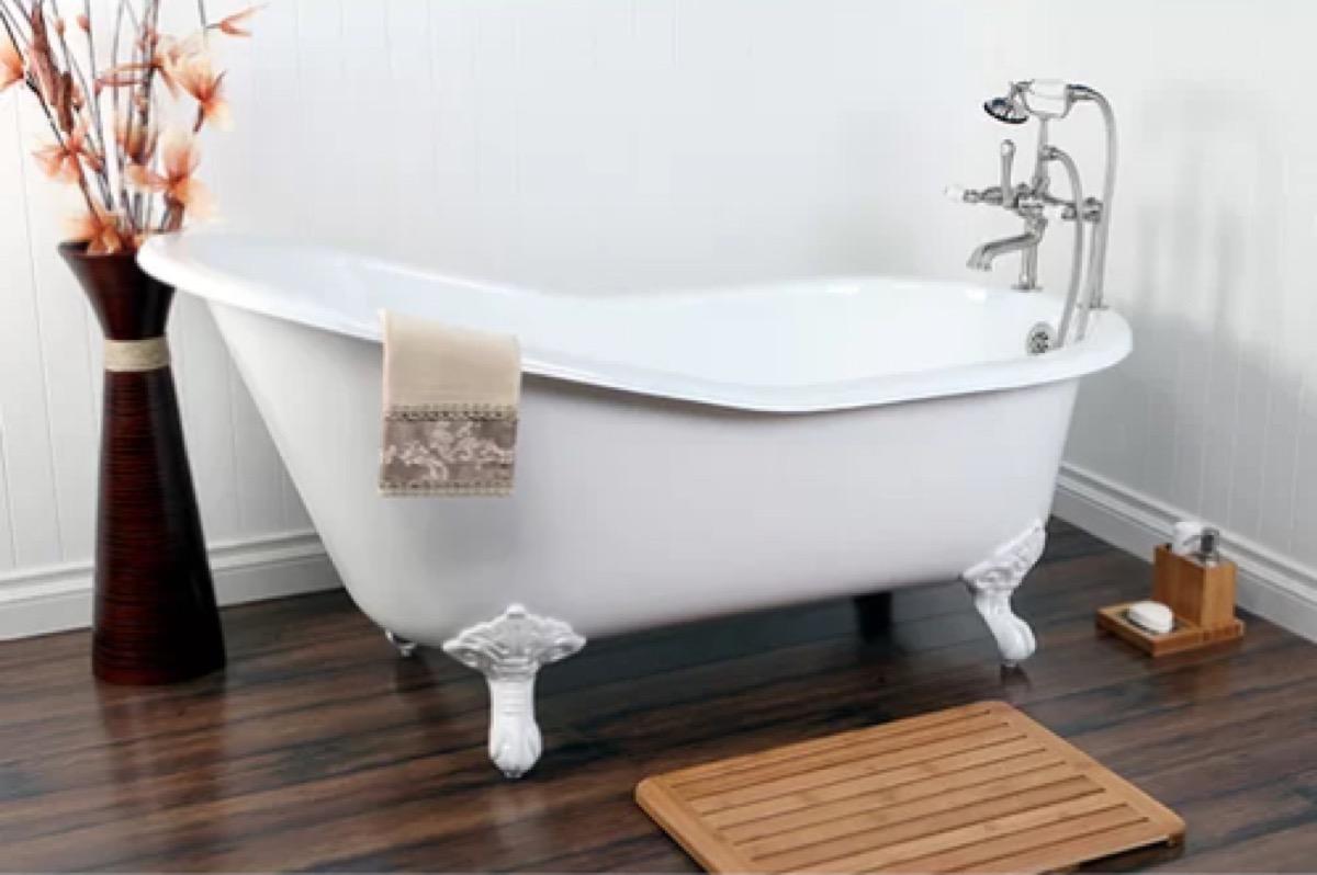wayfair clawfoot tub vintage home features
