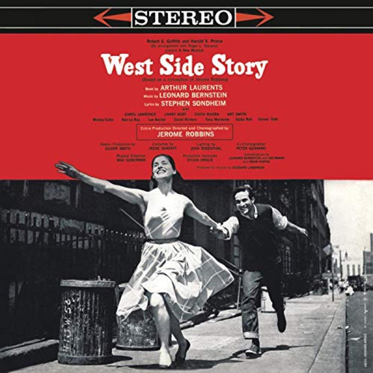 west side story original broadway cast recording