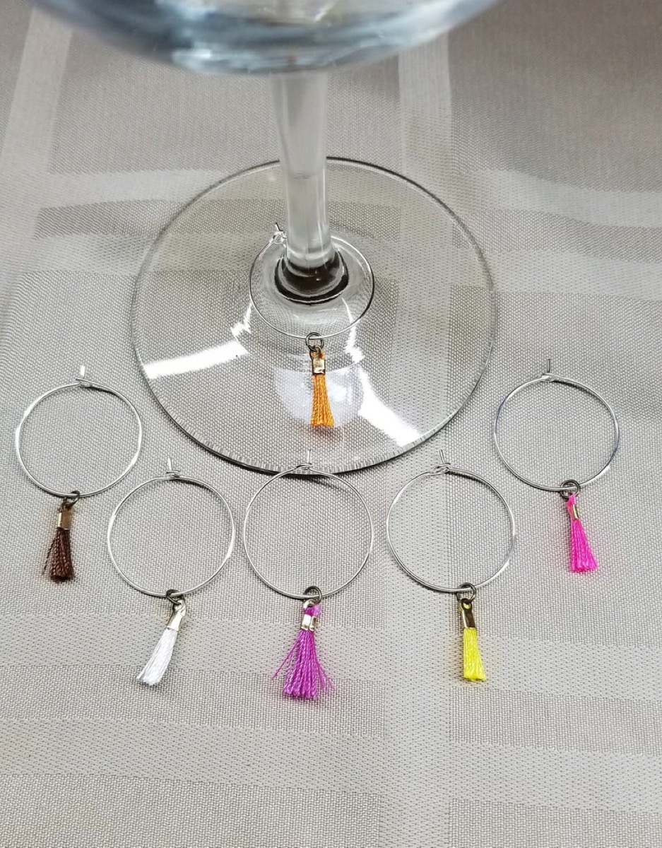 wine charms, summer party essentials