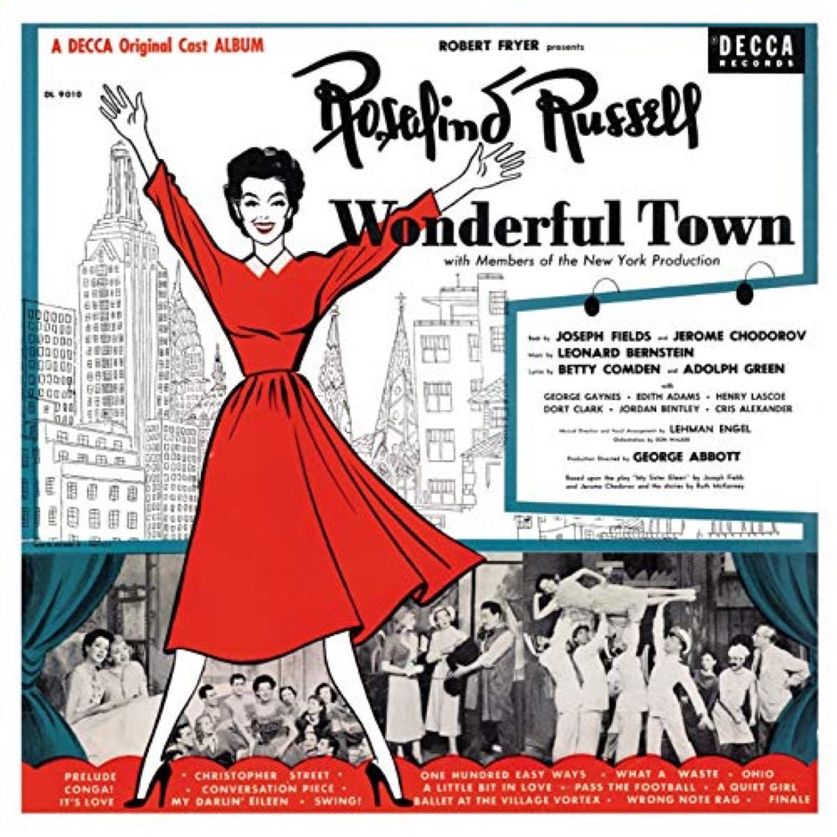 wonderful town cast recording,