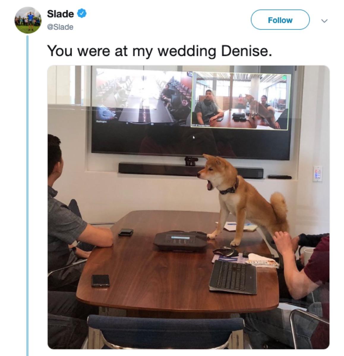 you were at my wedding denise meme, 2019 memes