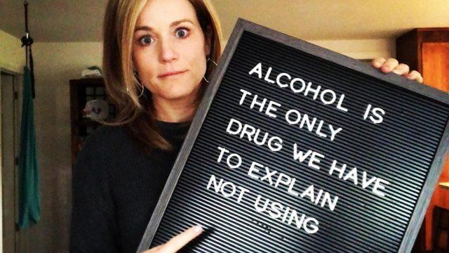 Celeste Yvonne pens viral Facebook post on the struggle of being sober in mommy wine culture