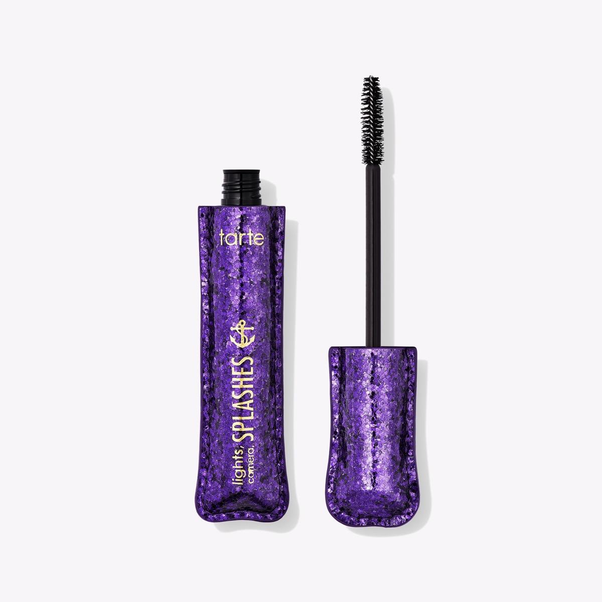 lights camera splashes waterproof tarte mascara, summer beauty products