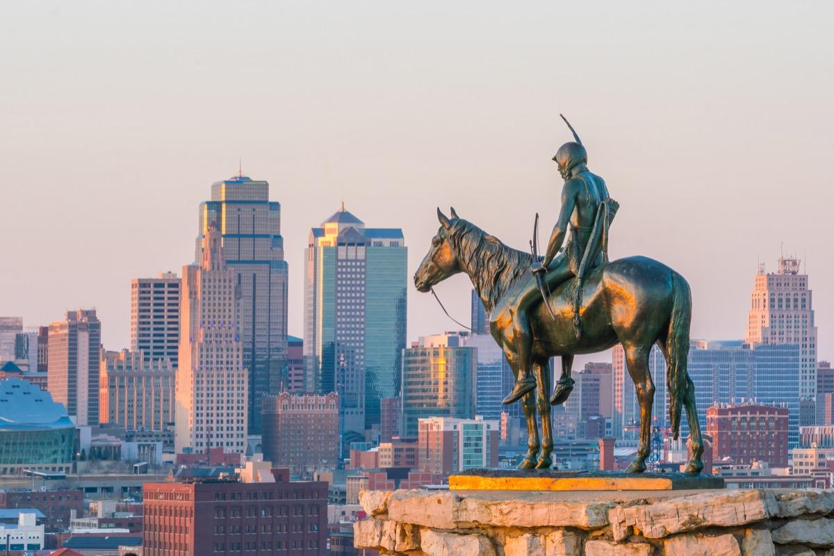 statue in Kansas City, Missouri