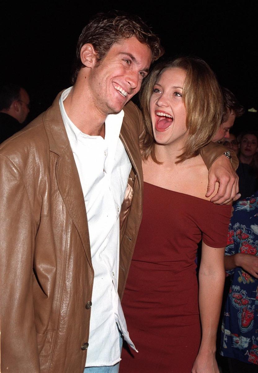 Kate and Oliver Hudson