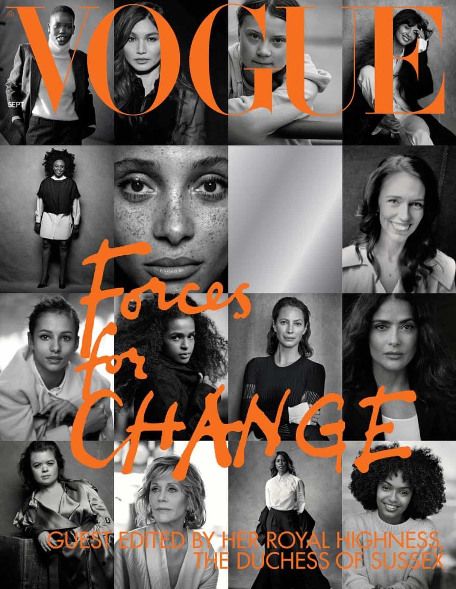 British Vogue September Issue Meghan Markle