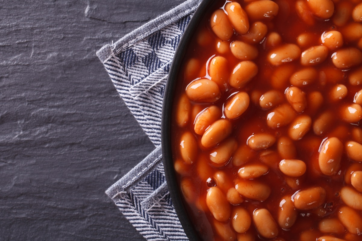 baked beans on a plate, weird state records