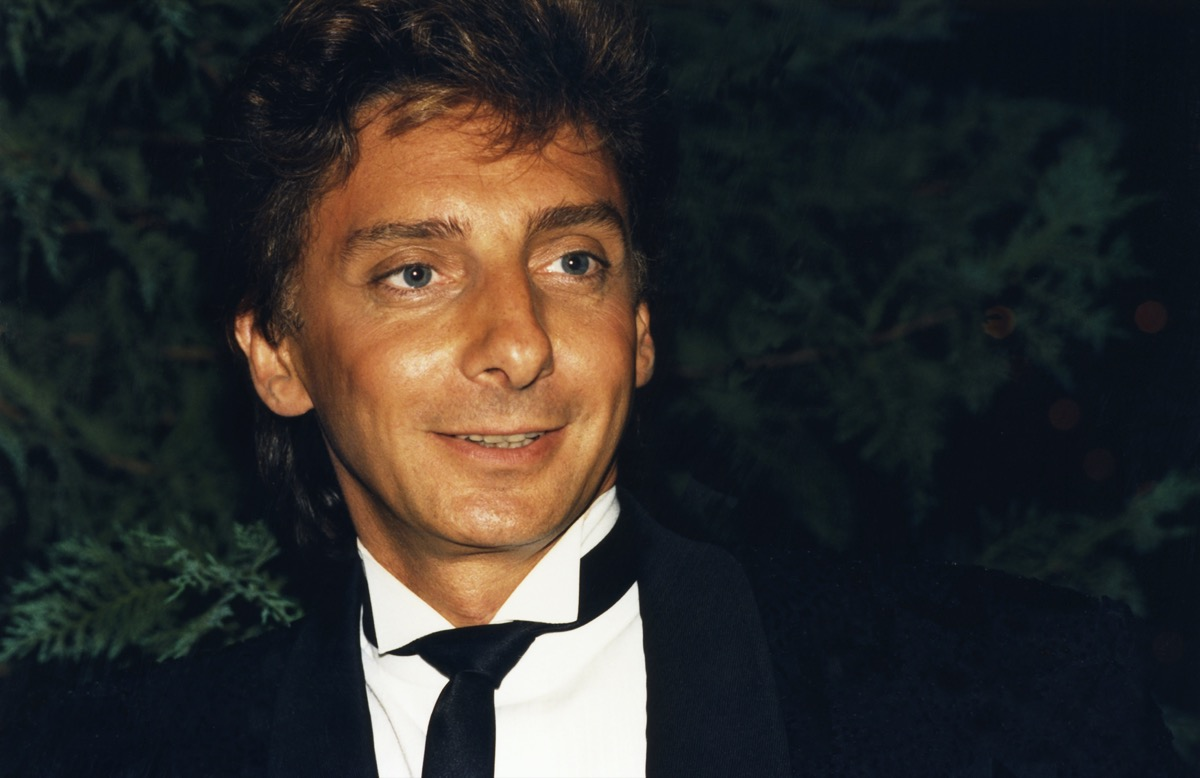 barry manilow in the 1990s
