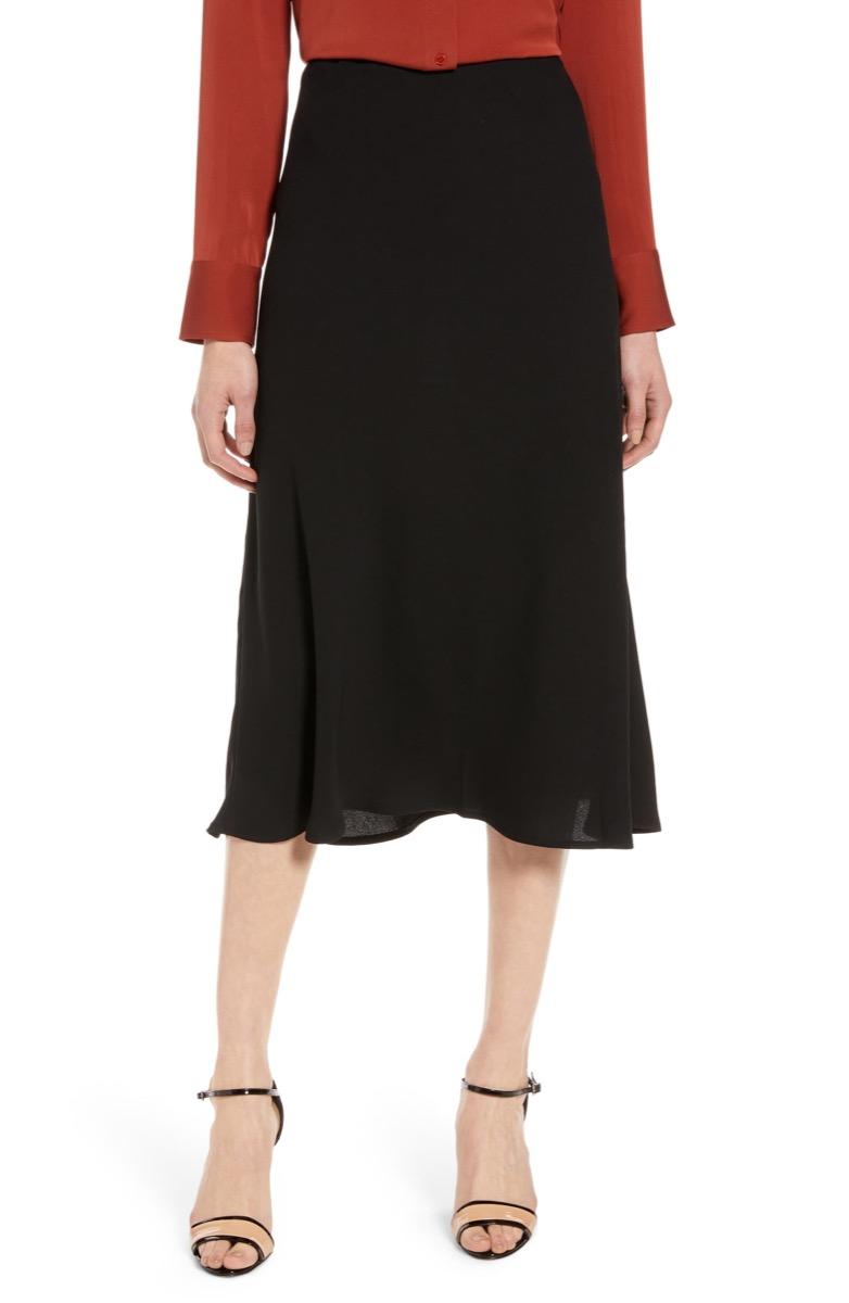 black a-line skirt, Nordstrom anniversary sale