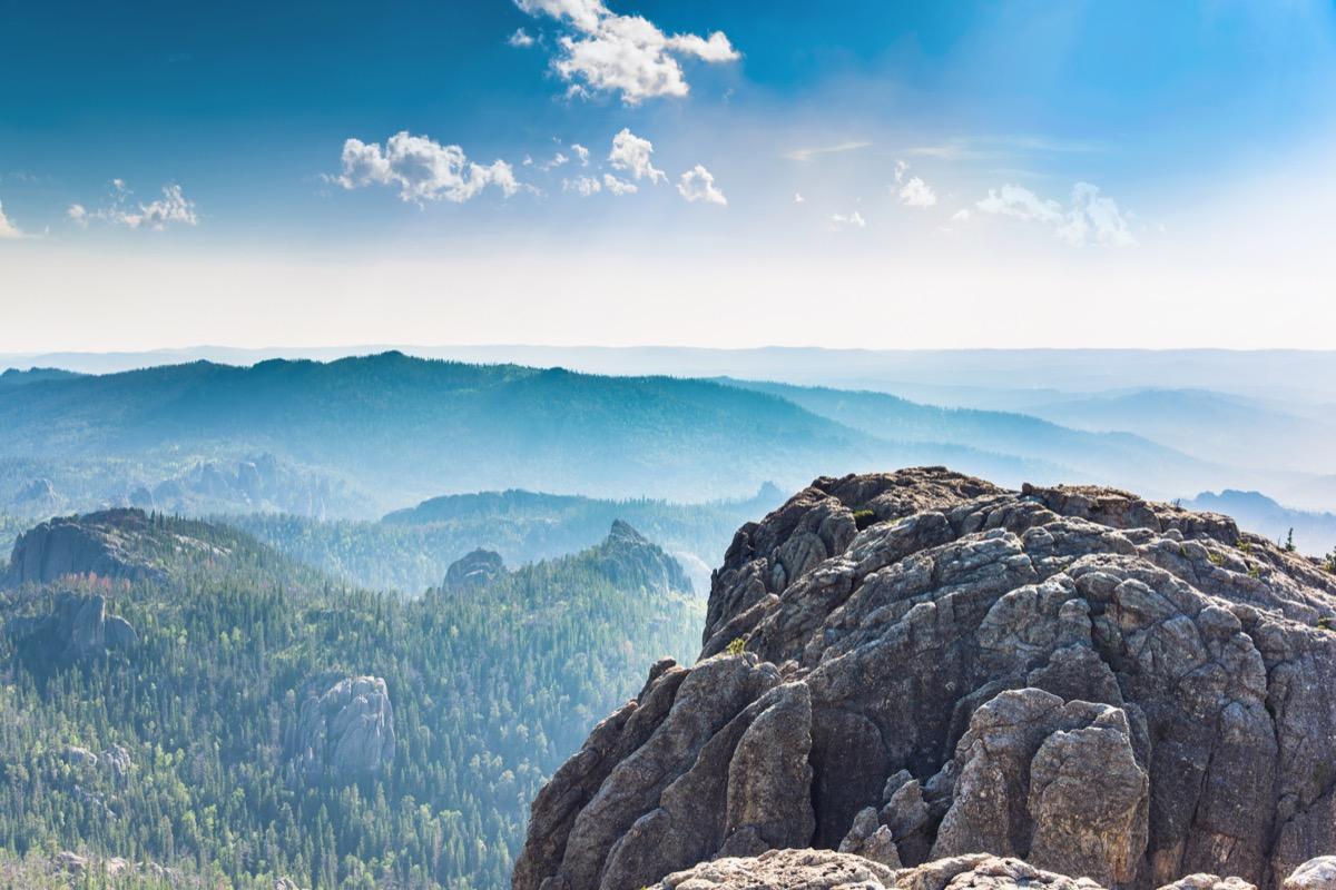 Black Elk Peak/Harney Peak, Custer County, Mount Rushmore UT, South Dakota, USA