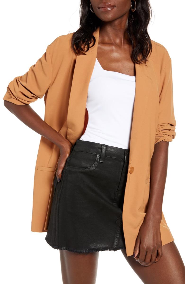 tan blazer, Nordstrom anniversary sale