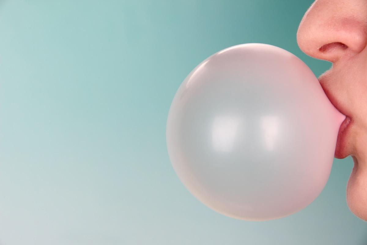 bubblegum bubble, state world records