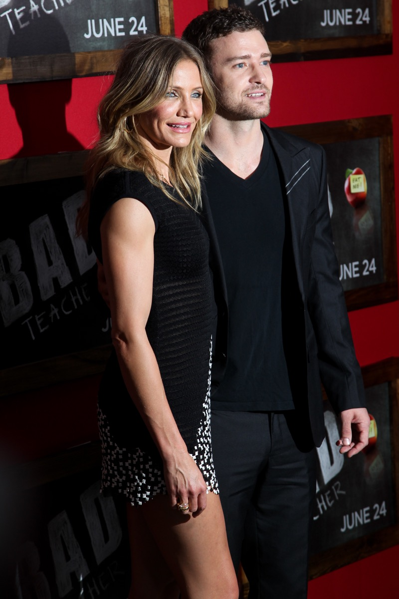 cameron diaz and justin timberlake, celebrity exes