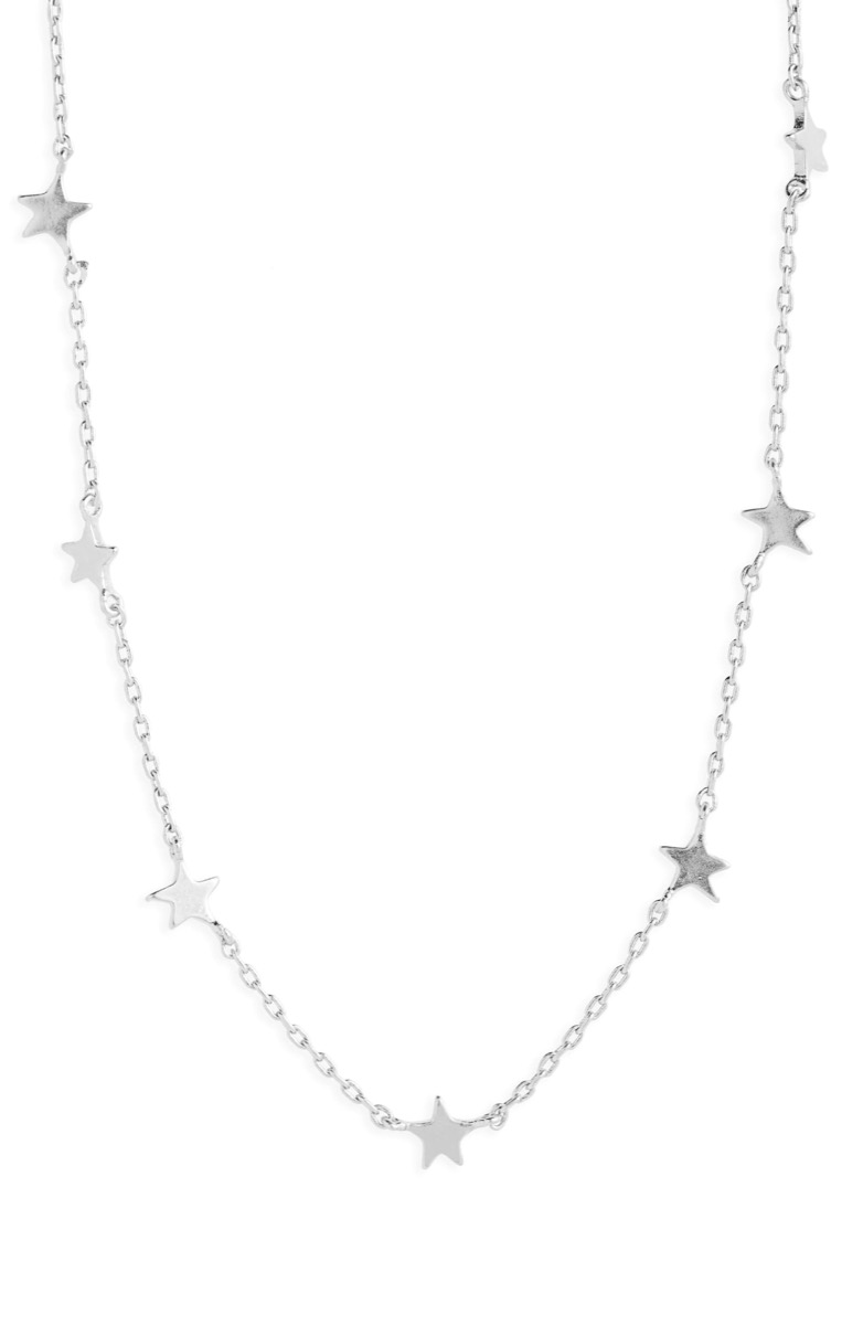 silver star necklace, Nordstrom anniversary sale