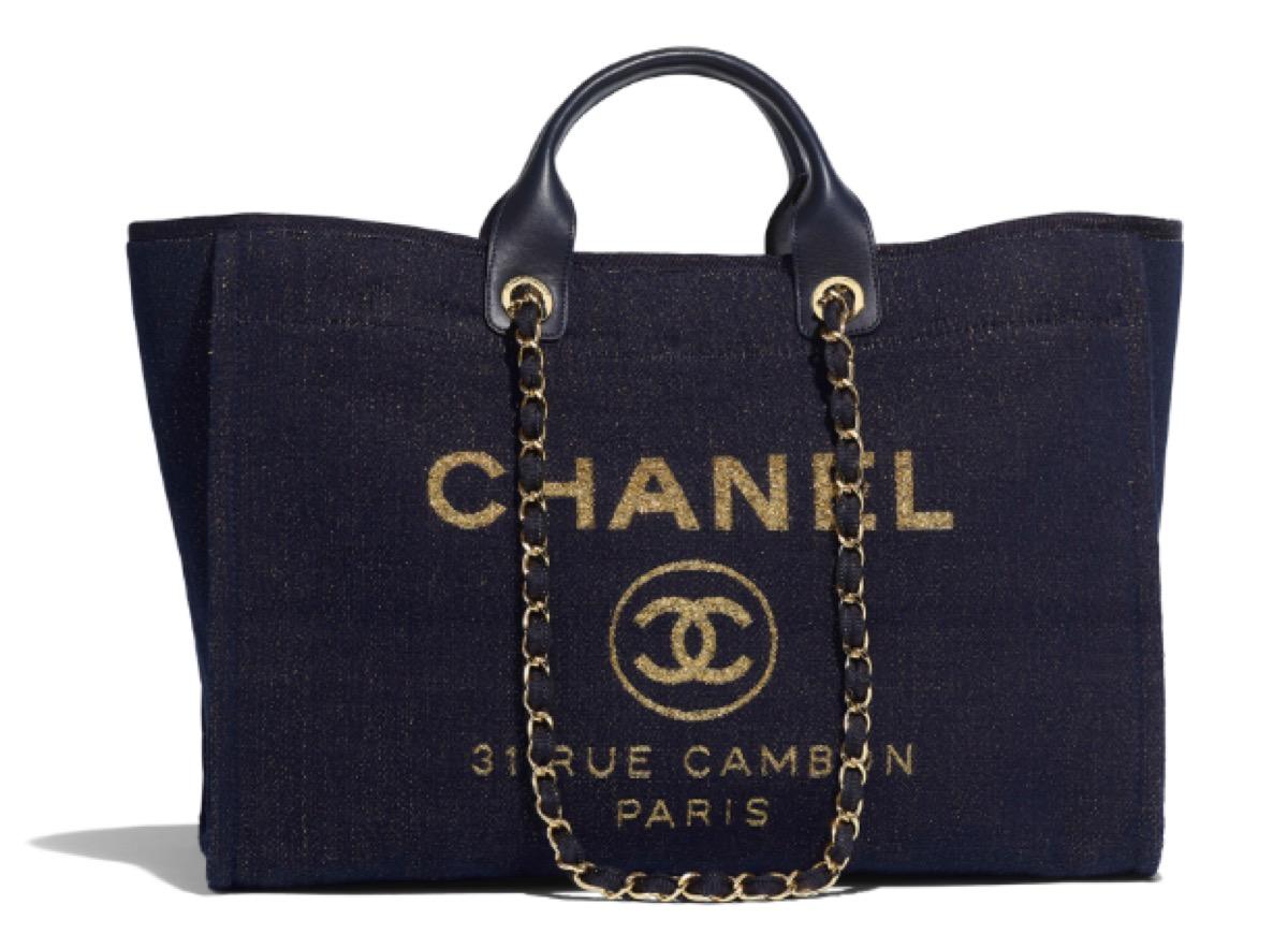 navy chanel beach bag, luxury beach bags
