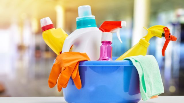 cleaning supplies, cleaning mistakes